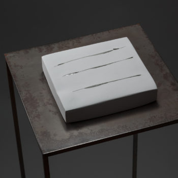 Plaster, Glass | 185 x 170 x 37 mm (7.2 x 6.6 x 1.4 in) | 2003