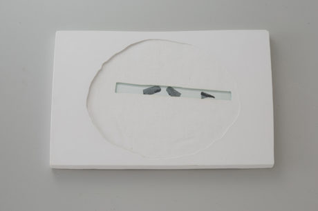 Plaster, Glass, Sumi ink | 340 x 240 mm ( 14.1 x 9.84 in ) | 2012