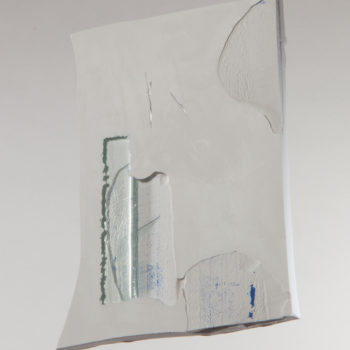 Plaster, Glass, Acrylic, Aluminum | 134 x 120 mm