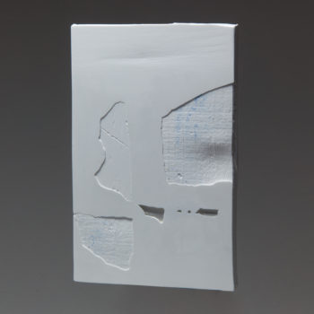 Plaster, Glass, Acrylic | 190 x 125 mm | 2018