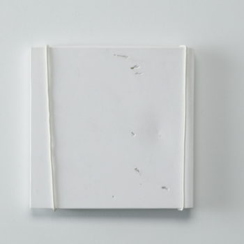 Plaster, Glass, Metal | 230 x 230 x 15 mm | 2002