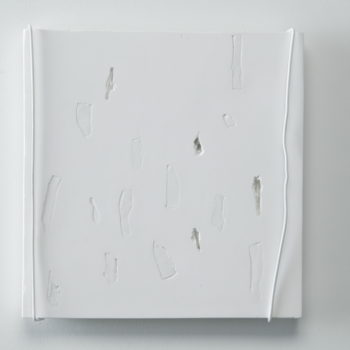 Plaster, Glass, Metal, Lacquer | 270 x 280 mm | 2004