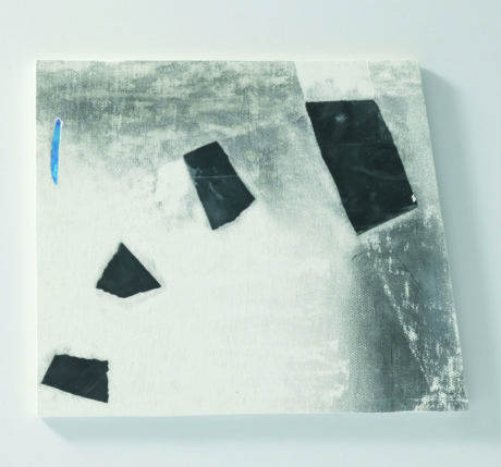 Plaster, Glass, Japanese sumi ink | 280 x 250 mm | 2006