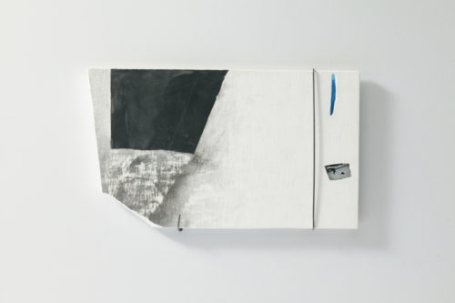 Plaster, Glass, Japanese sumi ink, Metal | 320 x 220 mm | 2006