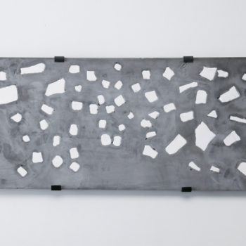 Plaster, Japanese sumi ink | 875 x 340 x 25 mm | 2004