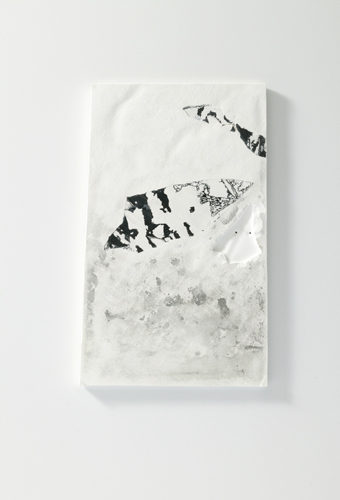 Plaster, Japanese sumi ink | 200 x 260 mm | 2006