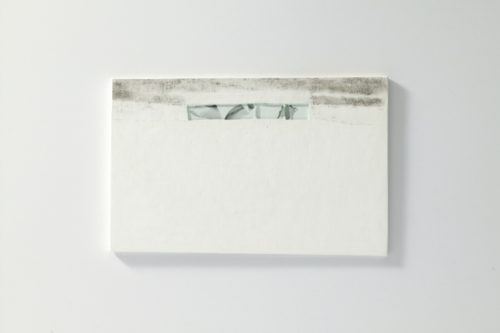 Plaster, Glass, Japanese sumi ink | 320 x 220 mm | 2006